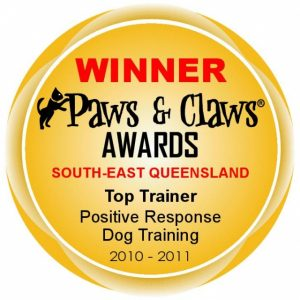 Top Trainer 2010-2011 - Paws & Claws Awards