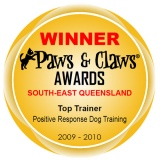 Top Trainer 2009/2010 - Paws & Claws Awards
